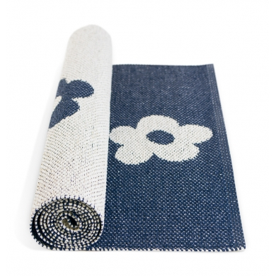 Blommor Night Blue Rug 200cm