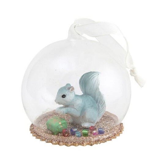 40% Secret Squirrel Glass Dome