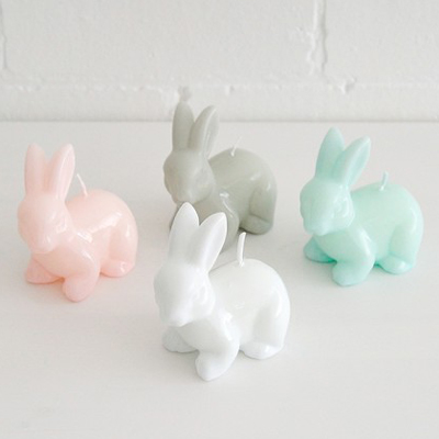 Rabbit Candle (4 sets)